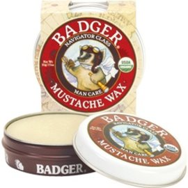 W.S. Badger Organic Mustache Wax .75oz