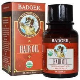 W.S. Badger Organic Hair Oil