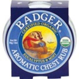 W.S. Badger Organic Aromatic Chest Rub 2oz