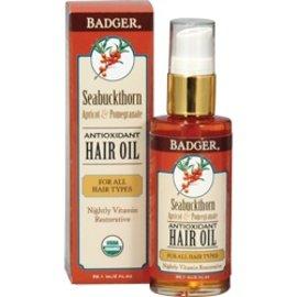 W.S. Badger Seabuckthorn Hair Oil 2 oz