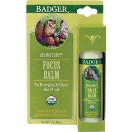 W.S. Badger Organic Aromatherapy Focus Balm .60oz