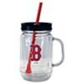 Wholesale Express Boston Red Sox Mason Tumbler with Straw