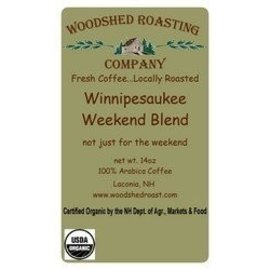 Woodshed Roasting Company WRC Winnipesaukee Weekend Blend Coffee - 10 oz