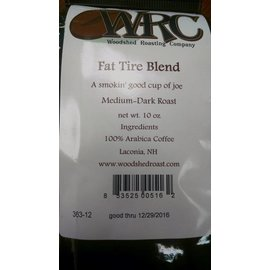 Woodshed Roasting Company WRC Fat Tire Coffee