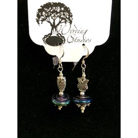 Wyrding Studios Owl Earrings