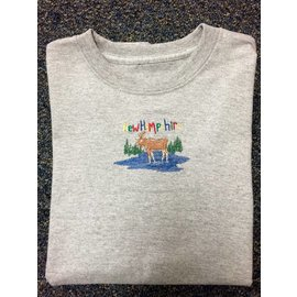 DF Embroidery New Hampshire Moose T-shirt (Youth)