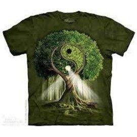 The Mountain Ying Yang Tree T-Shirt