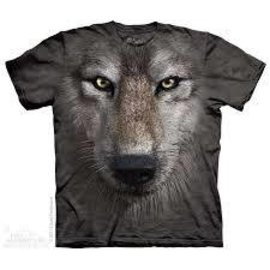 The Mountain Wolf Face T-Shirt