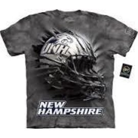 The Mountain UNH Wildcats Helmet T-Shirt