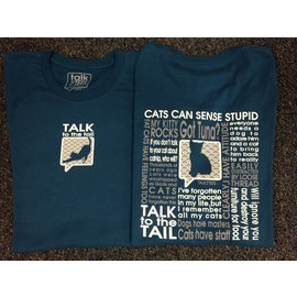 Talk It Up Tees Talk to the Tail T-Shirt
