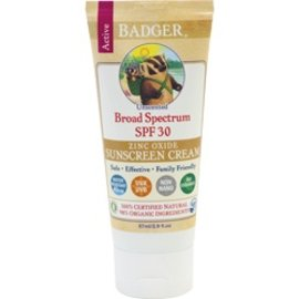 W.S. Badger SPF 30 All-Natural Sunscreen - Active