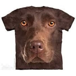The Mountain Chocolate Lab Face T-Shirt (Child)