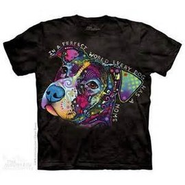 The Mountain In a Perfect World Dog T-Shirt