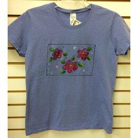 Bell Originals Purple Painted Flower T-Shirt