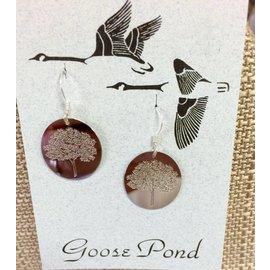 Goose Pond Tree of Hope Earrings