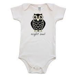 Simply Chickie Night Owl Baby Onesie