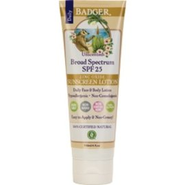 W.S. Badger SPF 25 Sunscreen Lotion
