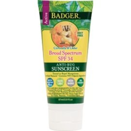 W.S. Badger SPF 34 Anti-Bug Sunscreen