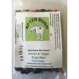 Afterburn Hot Sauce Sweet & Zippy Trail Mix