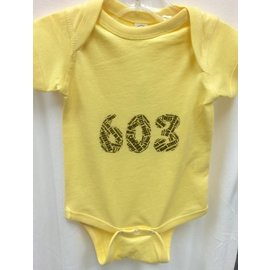 Who Doesn't Want That 603 Word Collage Onesie