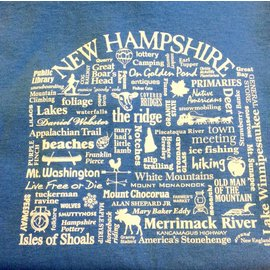 Where Life Takes You New Hampshire NH Destination T-shirt - Youth