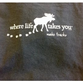 Where Life Takes You Make Tracks T-Shirt