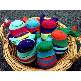 Arlette Laan Fiber Creations Smiley Guys Sock Dolls