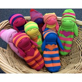 Arlette Laan Fiber Creations Sweeties Sock Dolls