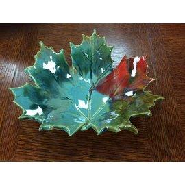 Rainmaker Pottery Ceramic Large Leaf Bowl
