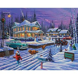 White Mountain Puzzles Inc. Christmas Puzzles