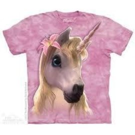 The Mountain Cutie Pie Unicorn Tshirt - Youth