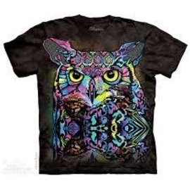 The Mountain Russo Owl Tshirt - Adult