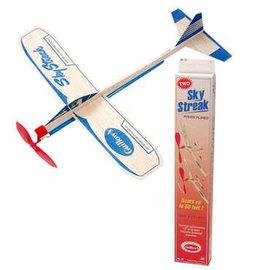 Channel Craft Sky Streak Propelled Powered Planes Glider Twin Pack