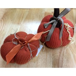 Handcrafted by Holly Sweater Pumpkin - Small