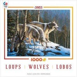 Ceaco Kids 1000 Piece Wolves Puzzles