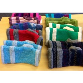 Handcrafted by Holly Wool Fingerless Gloves