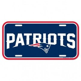 Wincraft Patriots License Plate
