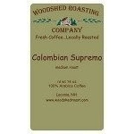 Woodshed Roasting Company WRC Columbian Supremo Coffee - 10 oz