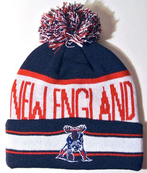 724c74a0 spain new england patriots pom pom hat b7b7d d502b