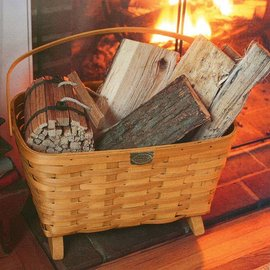 Peterboro Baskets Magazine / Fireside Basket