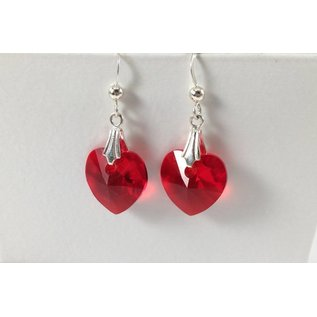 Beadwitching Jewelry Valentine Heart Earrings