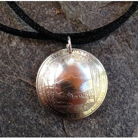 Common Cents Jewelry White Mountain New Hampshire Quarter Necklace