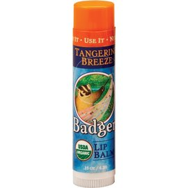 W.S. Badger Lip Balm - Tangerine Breeze