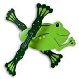 Walston Woodcraft Wooden Frog Wirligig Unfinished Kit