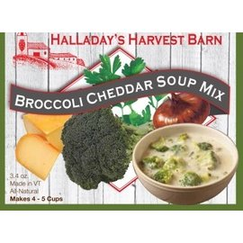 Halladay's Barn Broccoli Cheddar Soup Mix