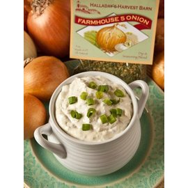 Halladay's Barn Farmhouse 5 Onion Dip and Cooking Blend