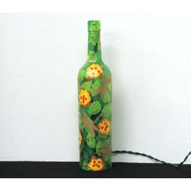 Gifts of Glass Bottle Light with Dragonflies