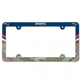 Wincraft Patriots License Plate Frame