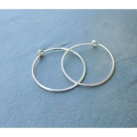MoodiChic Jewelry Sterling Silver Everyday Hoops