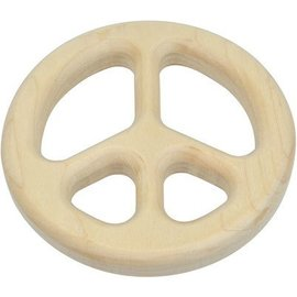 Maple Landmark Maple Peace Sign Baby Teether